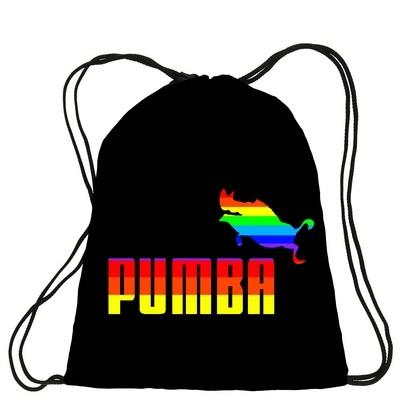 Рюкзак мешок с логотипом