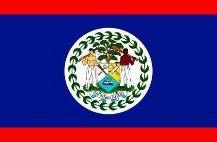 Флаг Белиз