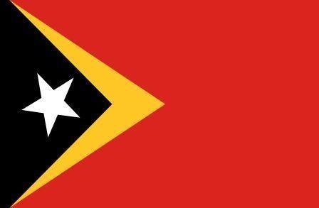 Флаг Восточный Тимор