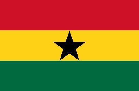 Флаг Гана