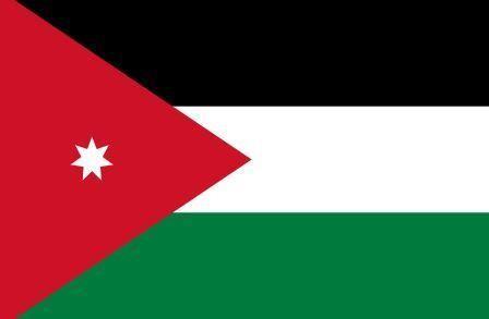 Флаг Иордания