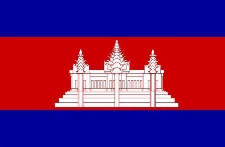 Флаг Камбоджа