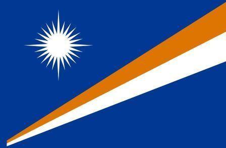 Флаг Маршаловы острова