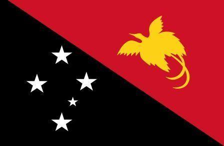 Флаг Папуа Новая Гвинея