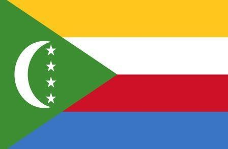 Флаг Союз Коморских островов