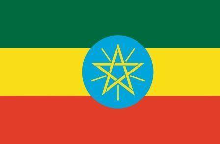 Флаг Эфиопия