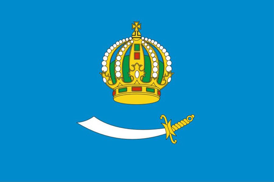 Флаг Астраханская область