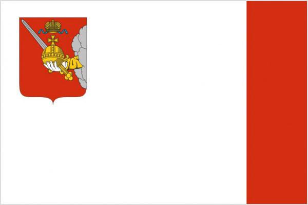 Флаг Вологодская область
