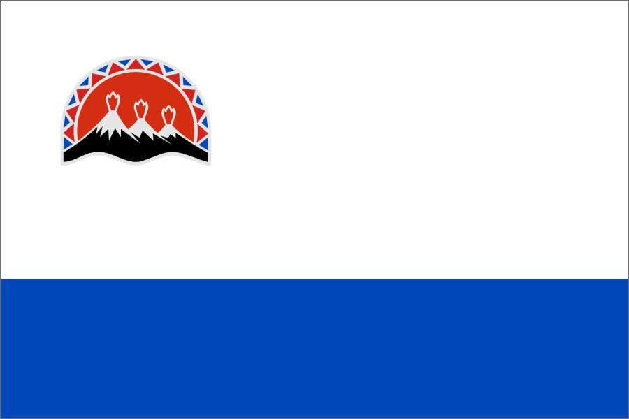 Флаг Камчатский край