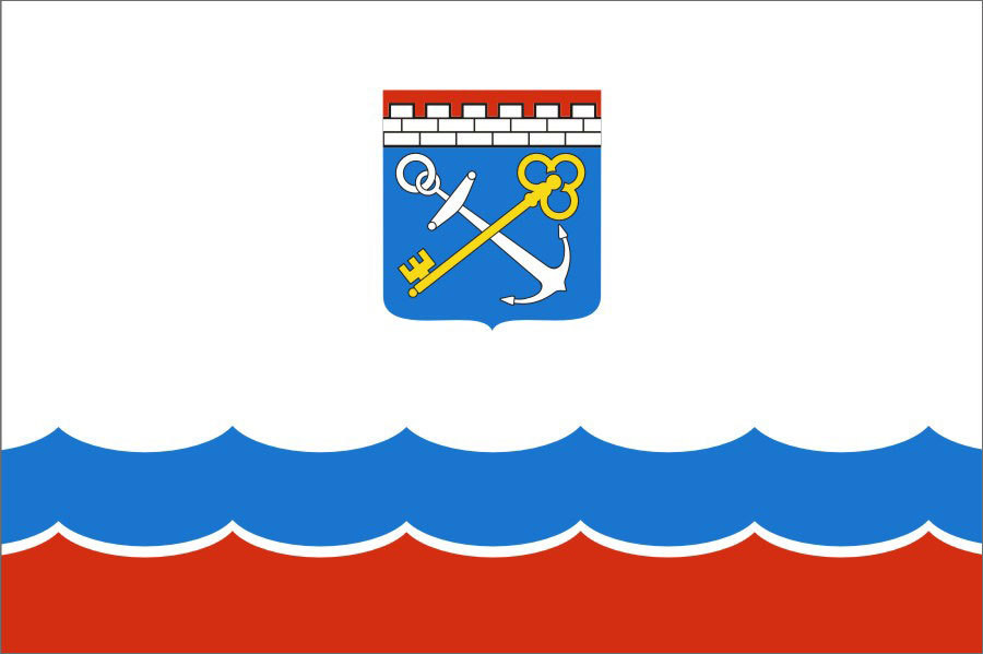 Флаг Ленинградская область