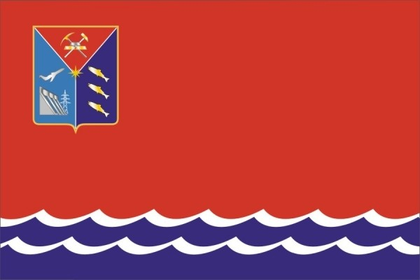 Флаг Магаданская область