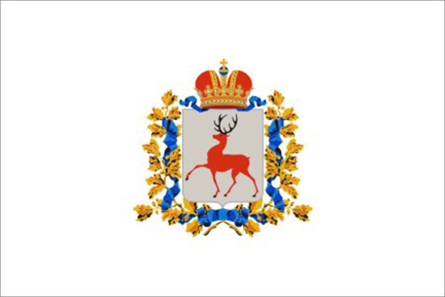 Флаг Нижегородская область