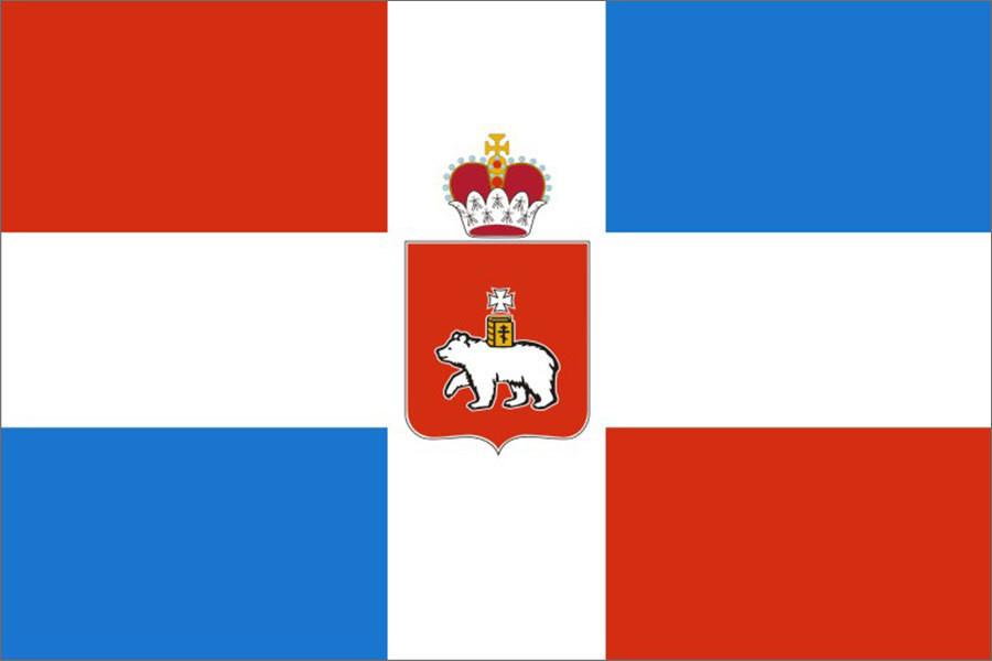 Флаг Пермский край