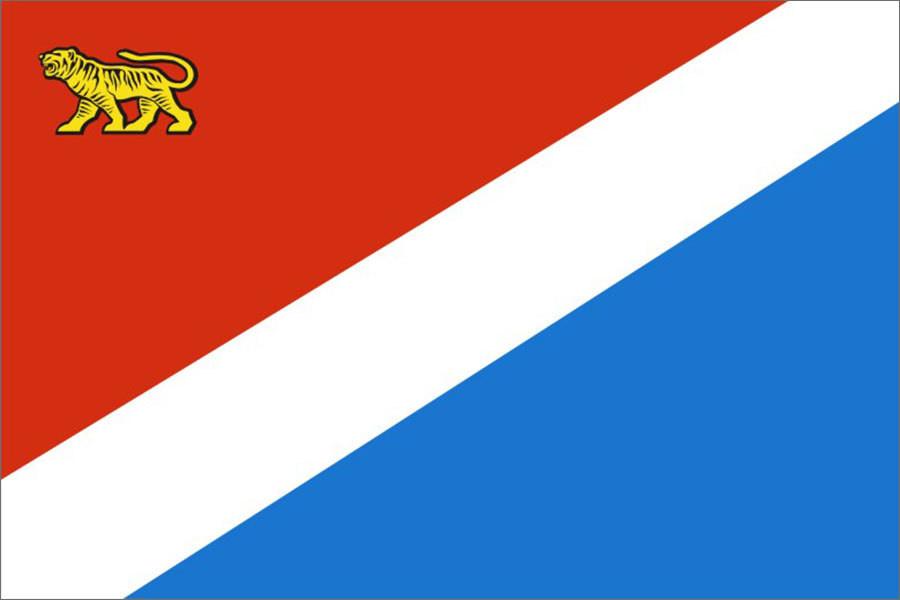 Флаг Приморский край