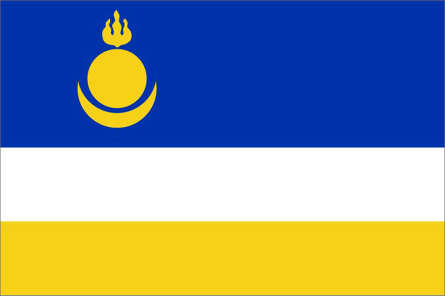Флаг Республика Бурятия