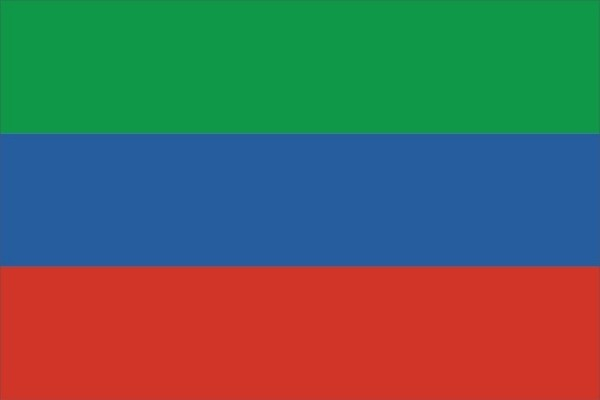 Флаг Республика Дагестан
