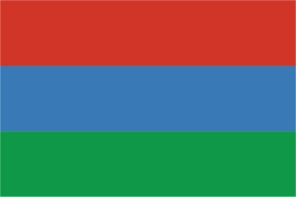 Флаг Республика Карелия