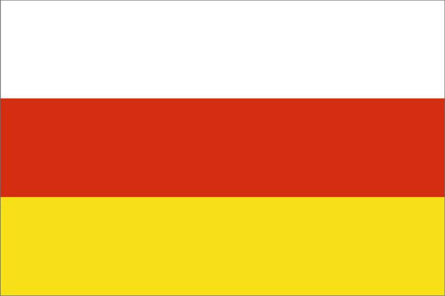 Флаг Республика Северная Осетия-Алания