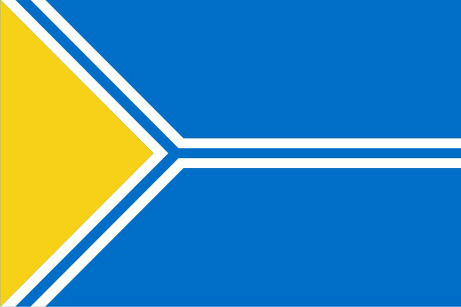 Флаг Республика Тыва