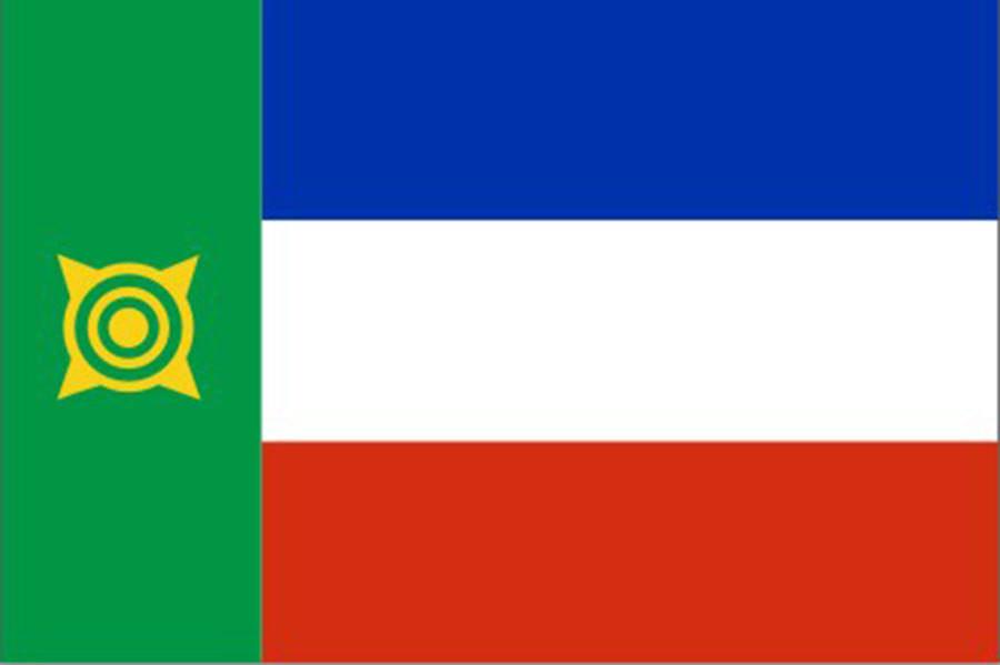 Флаг Республика Хакасия