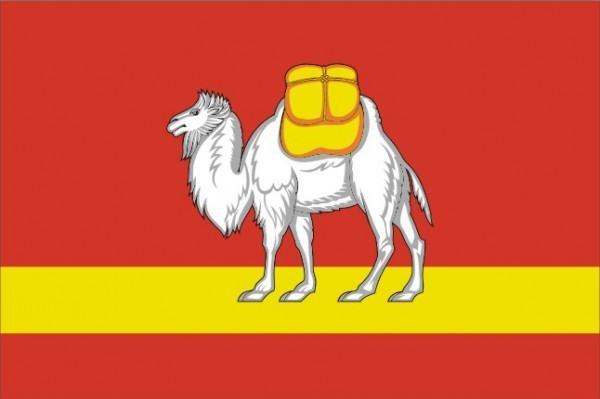 Флаг Челябинская область