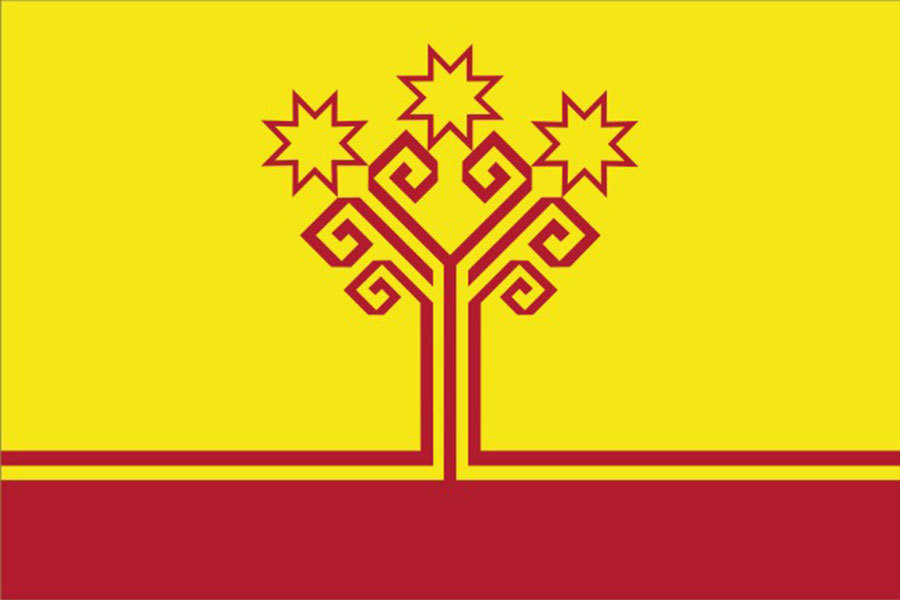 Флаг Чувашская Республика