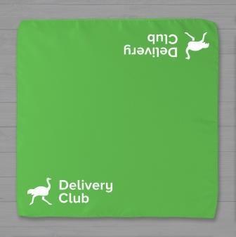 Платок с на несением логотипа