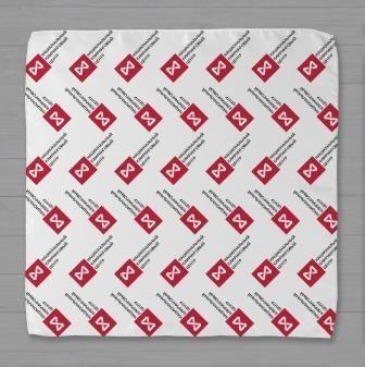 Шейный платок с логотипом