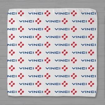 Шелковый платок с логотипом