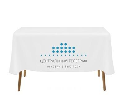 Скатерть с логотипом