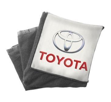 Плед подушка с логотипом автомобильная