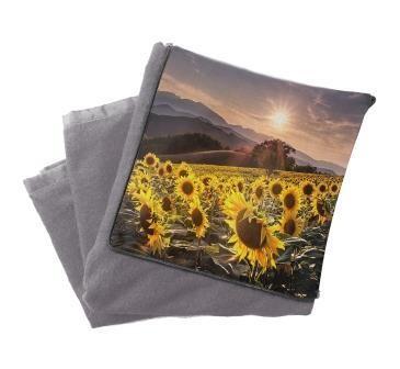 Плед подушка с фото в машину