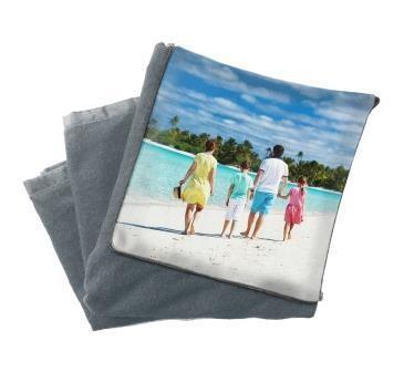 Плед подушка с фото детская