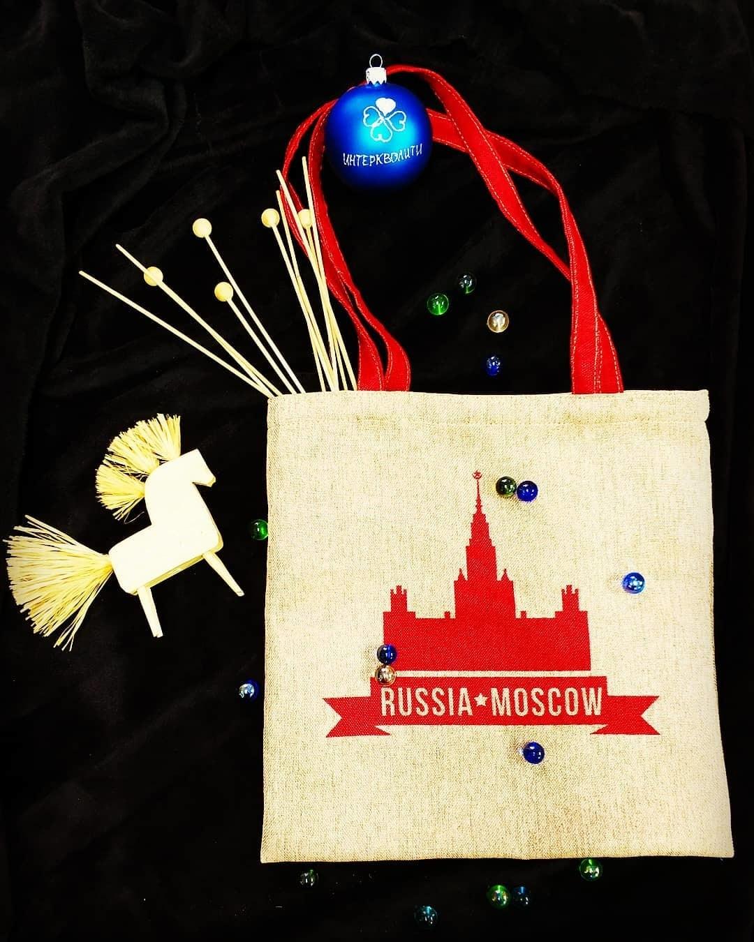Промо сумка с логотипом Дужт