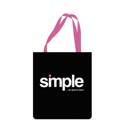 Промо сумка с логотипом Саржа