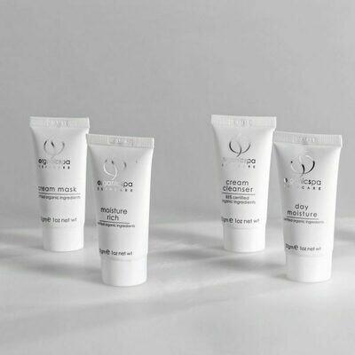 Rich Rituals – Cream Cleanser, Face Exfoliant, Cream Mask, Moisture Rich 4 x 30gm Tubes