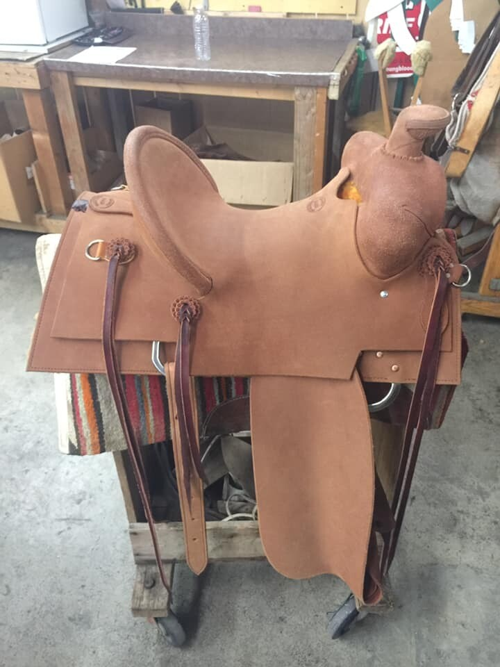 Arizona Roper Saddle 15""