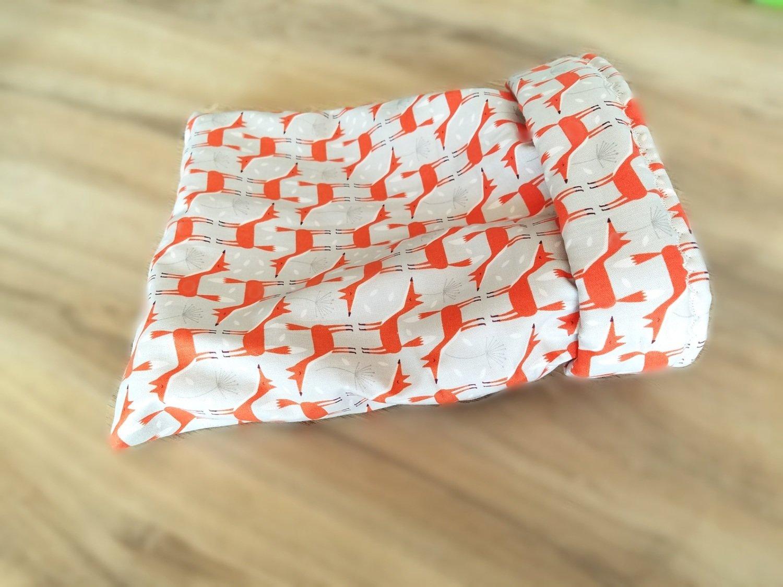 Up North Rustics & Co.™ Small Animal Sleep Sack   Foxes on Grey