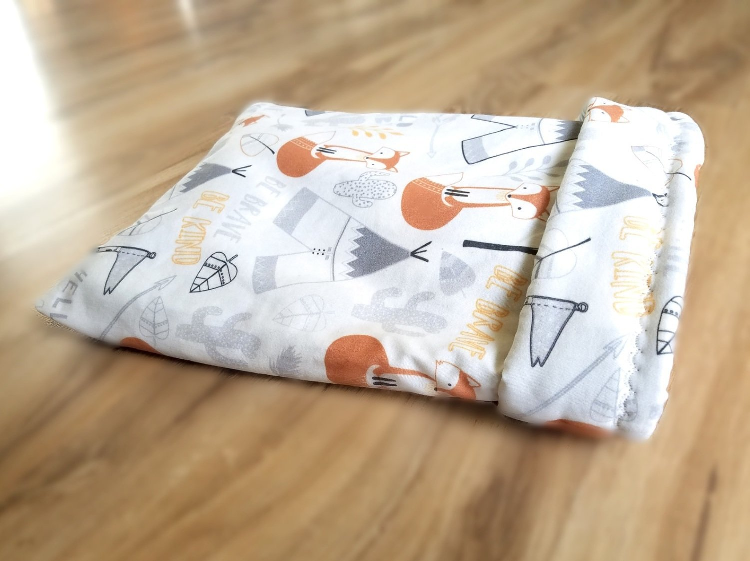 Up North Rustics & Co.™ Small Animal Sleep Sack | Foxes & Teepees