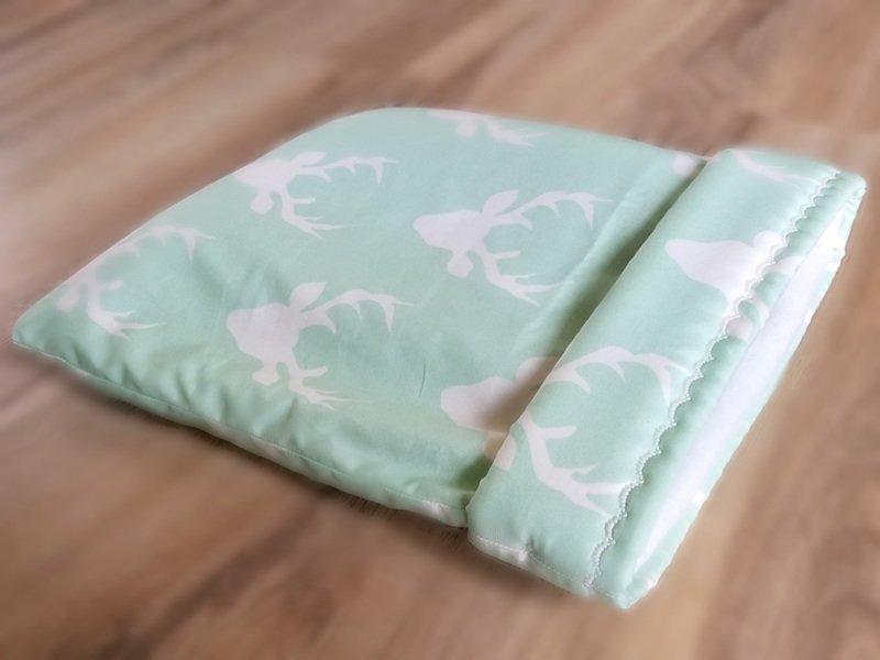 Up North Rustics & Co.™ Small Animal Sleep Sack   Bucks on Mint