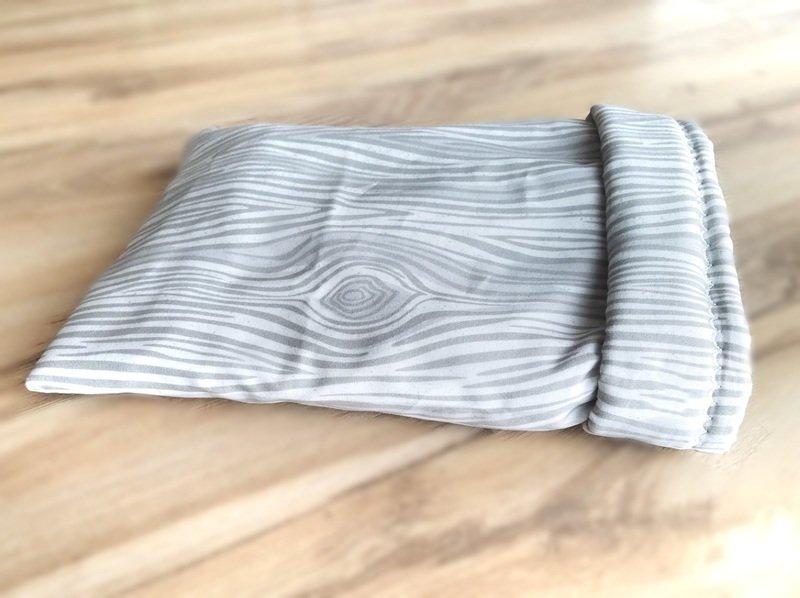 Up North Rustics & Co.™ Small Animal Sleep Sack   Grey Woodgrain