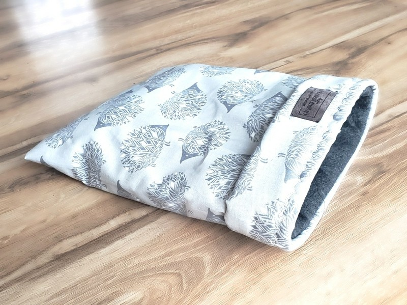 Up North Rustics & Co.™ Small Animal Sleep  Sack | Hedgehogs on Sterling
