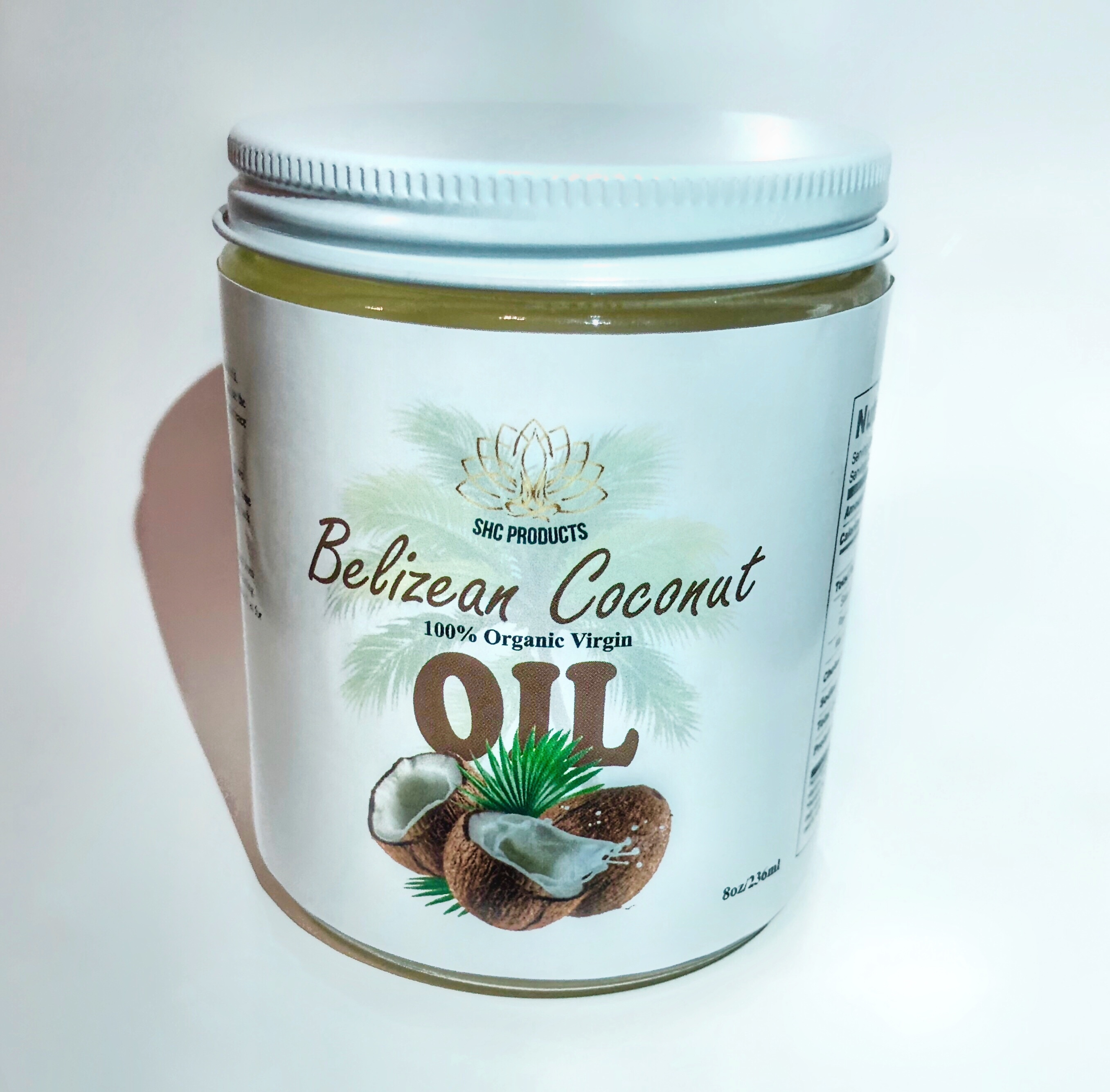 Belizean Virgin Coconut Oil 1004