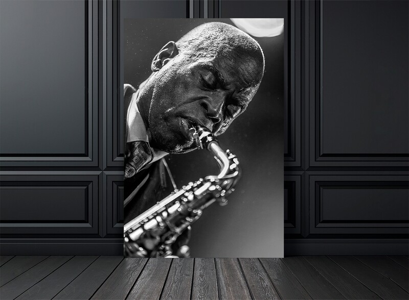 TIRAGE PHOTO MACEO PARKER  -  Edition 30 exemplaires