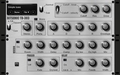 TB-303 VST plugin