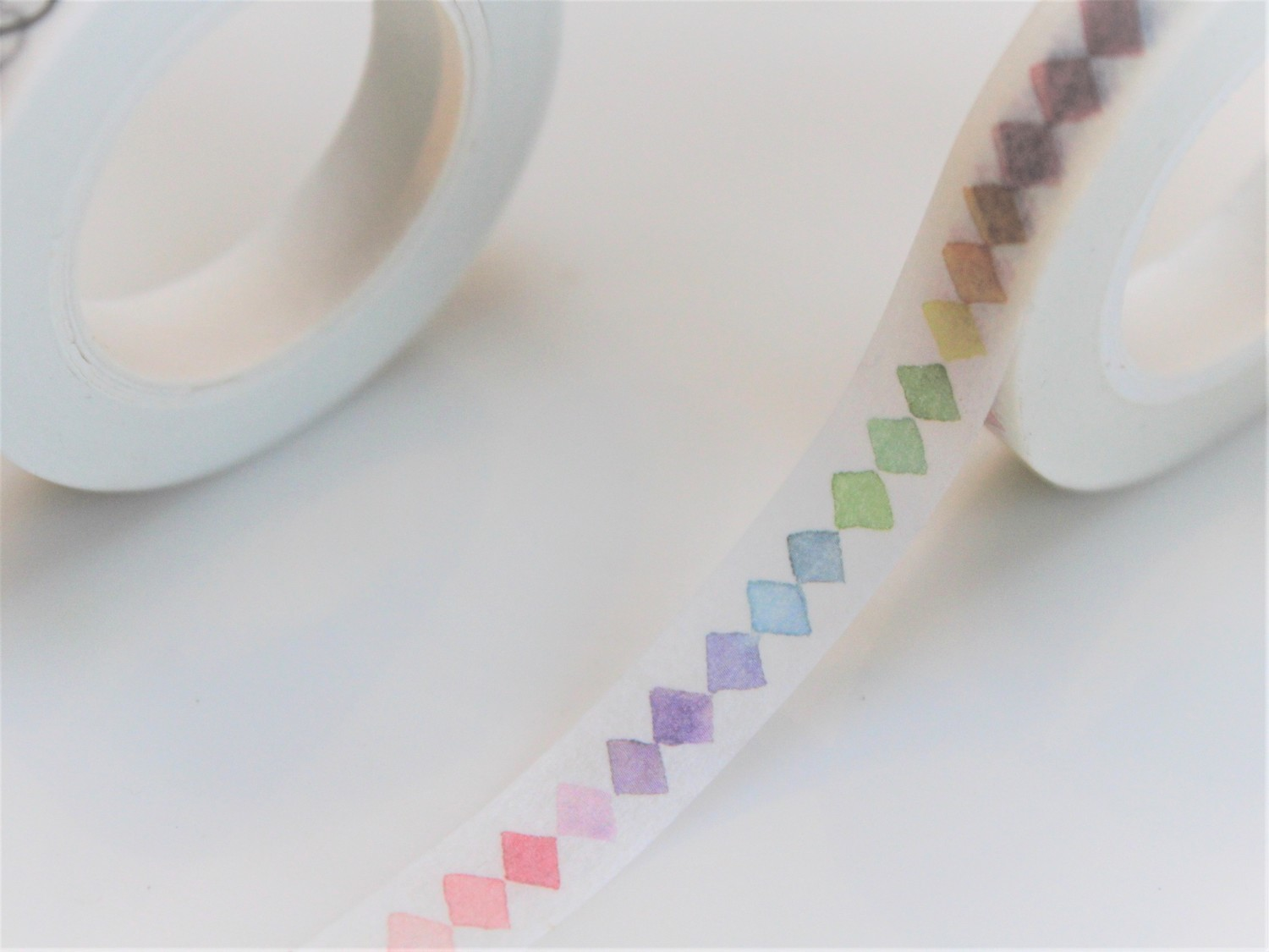 Rainbow Diamond Washi Tape  8mm