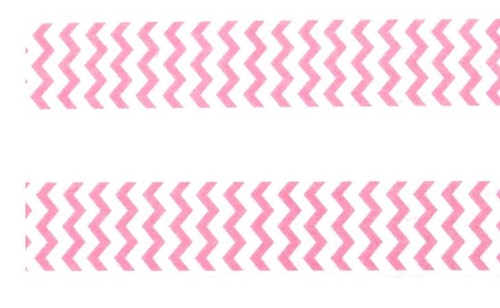 Pink Zigzag Washi Tape 15mm