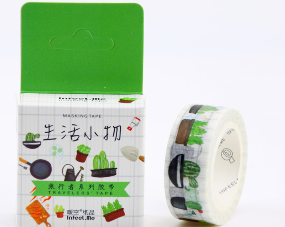 Gardening Washi Tape 15mm