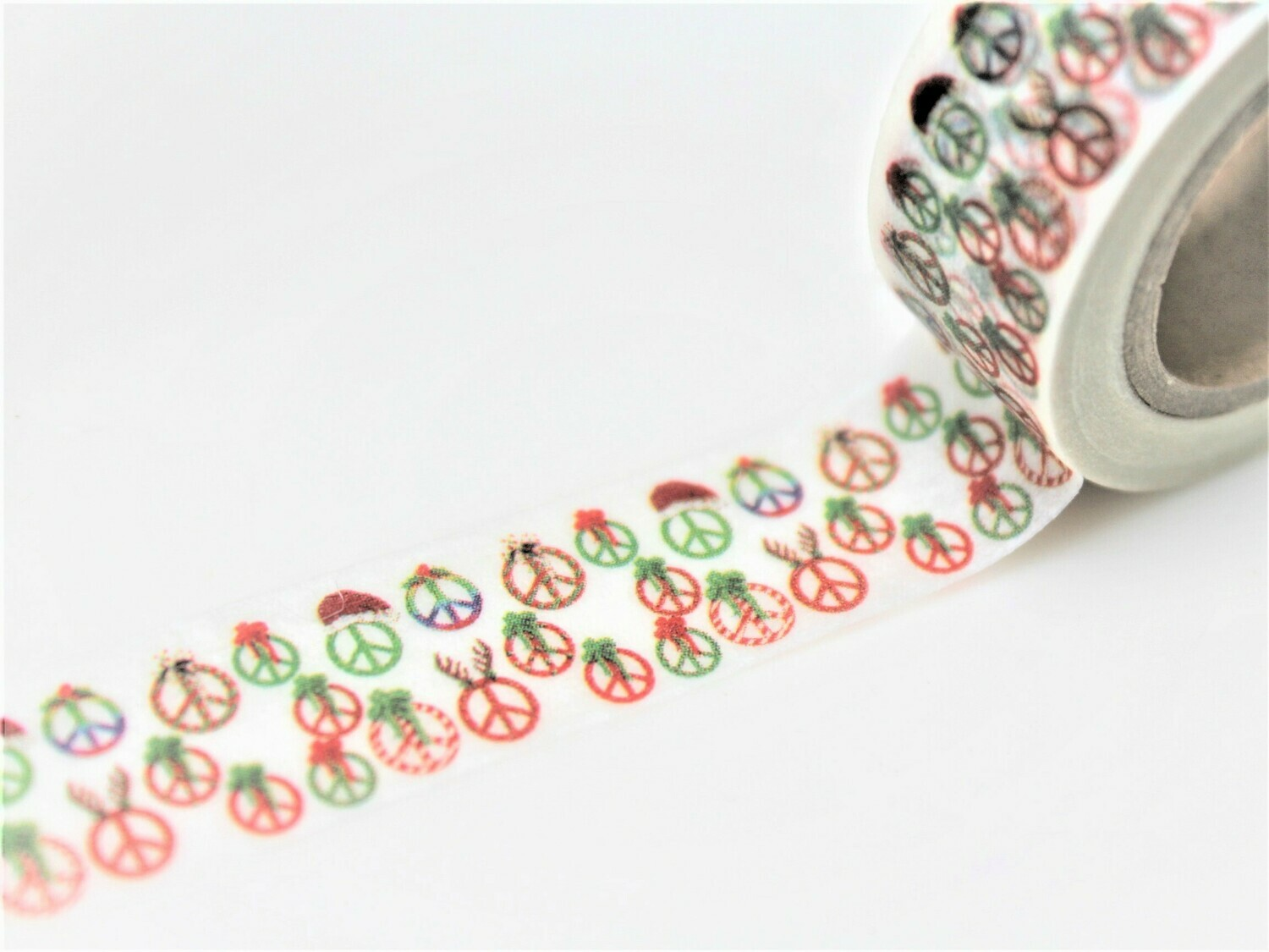 Christmas CND Paper Tape