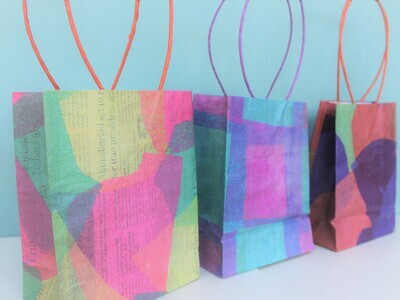 Recycled Gift Bags - Fair Trade